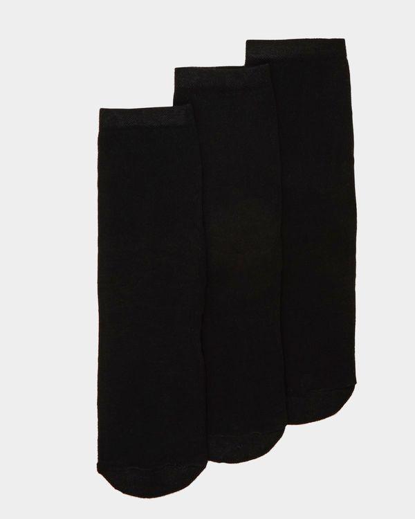Cushioned Bamboo Socks - 3 Pack