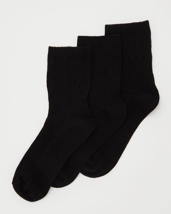 Bamboo Comfort Top Sock - Pack Of 3