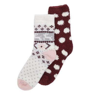 Fleece Socks - Pack Of 2 thumbnail