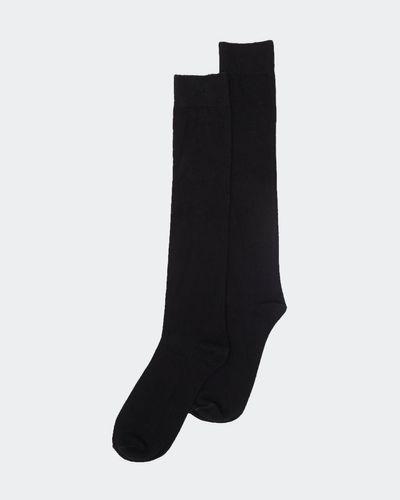 Basic Knee High Socks - Pack Of 2 thumbnail