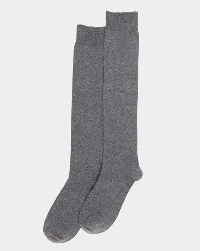 Basic Knee High Socks - Pack Of 2 thumbnail
