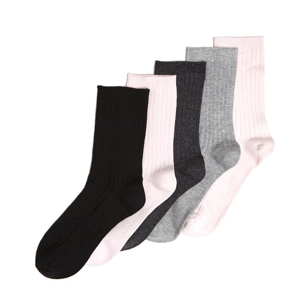 Coloured Ankle Socks - Pack of 5