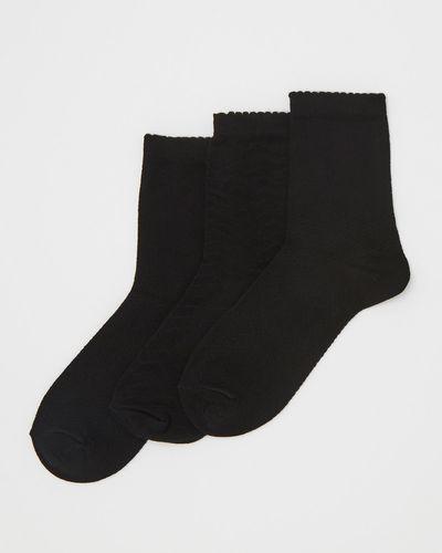 Cotton Trouser Socks - Pack Of 3