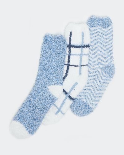 Fluffy Socks - Pack Of 3 thumbnail