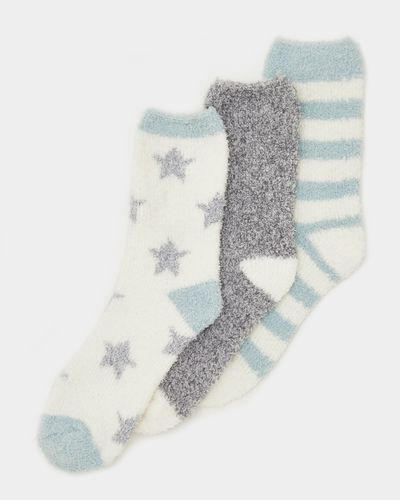 Fluffy Socks - Pack Of 3