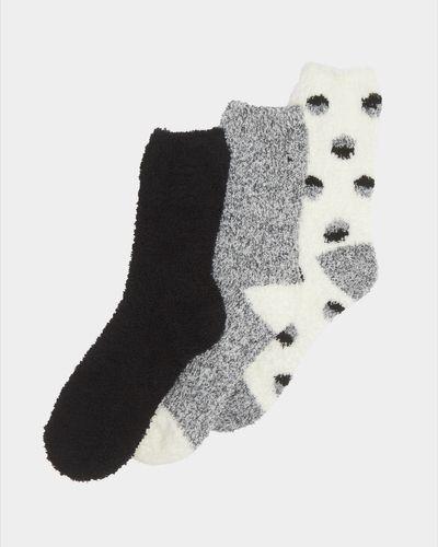 Fluffy Socks - Pack Of 3