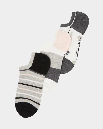 Ultimate Luxury Trainer Socks - Pack Of 3
