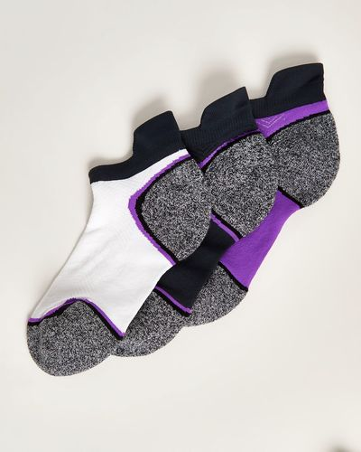 Low Profile Terry Heel-And-Toe Sock - Pack Of 3