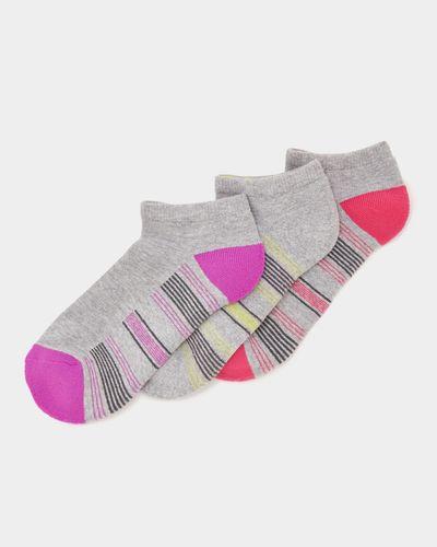 Trainer Socks  - Pack Of 3