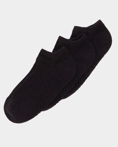 Massage Sole Trainer Socks - Pack Of 3