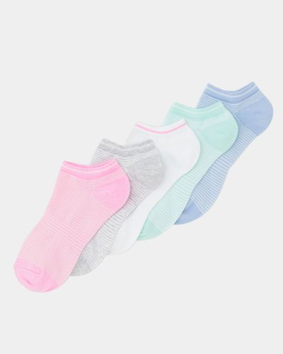 Cotton Arch Support Liner Socks - Pack Of 5