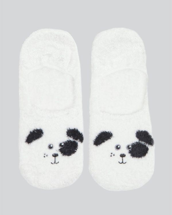 Eyelash Slipper Sock