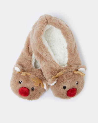 Reindeer Fur Slippersock