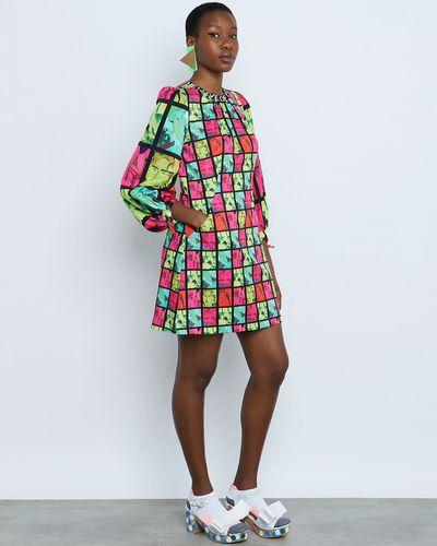 Joanne Hynes The Illustrated Girls Postcard Dress