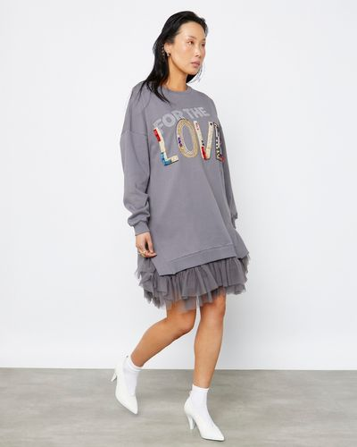 Joanne Hynes Oversized FOR THE LOVE OF Sweater Dress