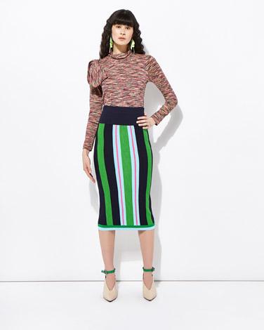multiJoanne Hynes Stripe Skirt