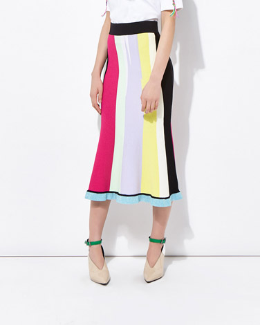 multiJoanne Hynes Painter Knit Skirt