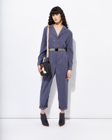 navy Joanne Hynes Ultra-Chic Jumpsuit And Belt