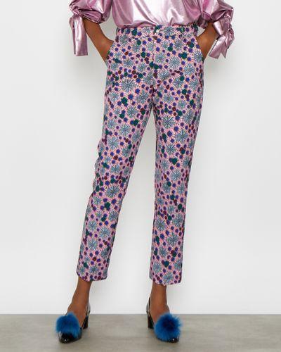 Joanne Hynes Kaleidoscope Print Trousers thumbnail