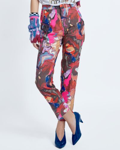 Joanne Hynes Every Daughters Ritual Print Trousers thumbnail