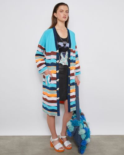 Joanne Hynes A Neapolitan Knit Coatigan