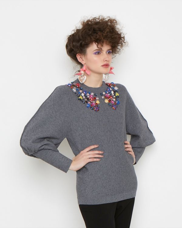 Joanne Hynes Button Collector Jumper