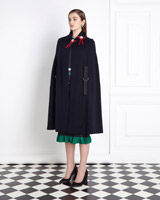 navy-red Joanne Hynes Navy Cape
