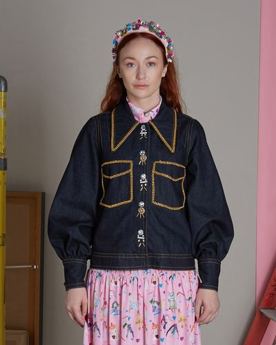 Joanne Hynes Couture Denim Jacket thumbnail