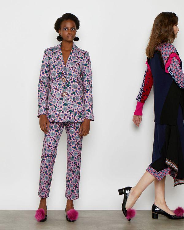 Joanne Hynes Kaleidoscope Print Blazer