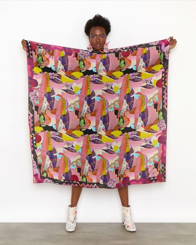 Joanne Hynes Mainie Jellett Silk Scarf (Limited Edition)