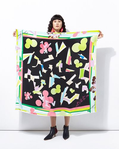 Joanne Hynes You Do You And I'll Do Me Silk Scarf thumbnail