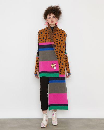 Joanne Hynes Tiger Textile Clash Scarf