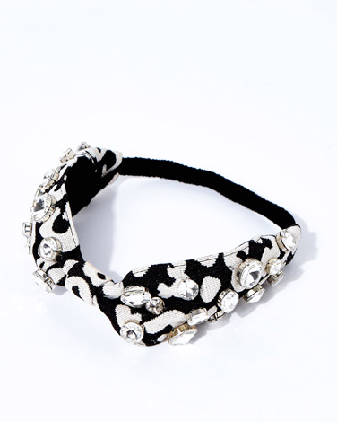 multiJoanne Hynes White/Black Hairband