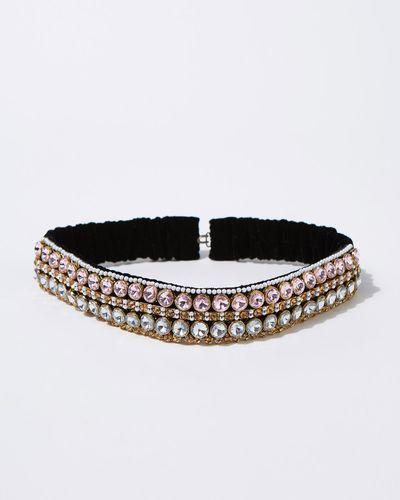 Joanne Hynes Velvet Jewel Headband