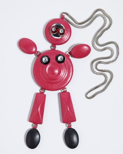 Joanne Hynes Leather Robot Lover Necklace (Limited Edition)