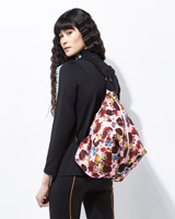 multi Joanne Hynes Printed Neoprene Backpack  (Limited Edition)