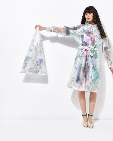 multiJoanne Hynes Scatter Sequin Print Shopper