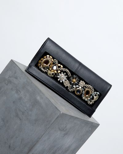 Joanne Hynes Decadent Leather Clutch (Limited Edition)