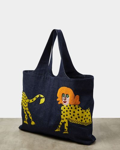 Joanne Hynes Tiger Lady Denim Bag