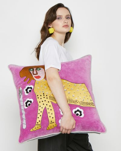 Joanne Hynes Tiger Lady Cushion (Limited Edition) thumbnail