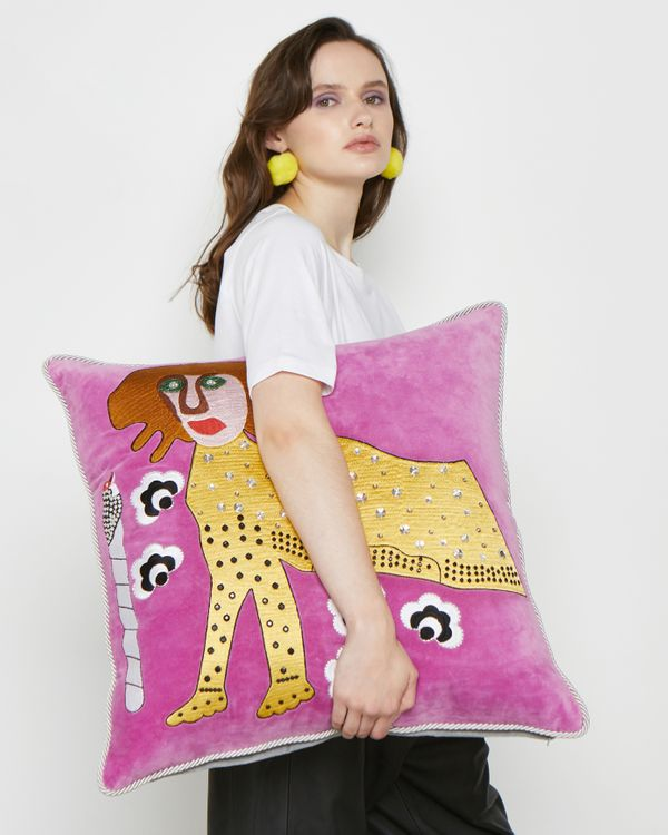 Joanne Hynes Tiger Lady Cushion (Limited Edition)