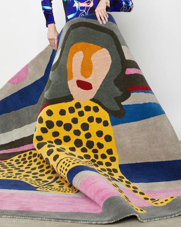 Joanne Hynes Tiger Lady Rug