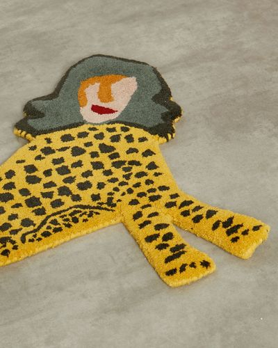 Joanne Hynes Mini Tiger Lady Rug (Limited Edition)