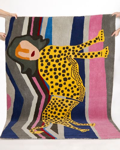 Joanne Hynes Tiger Lady Wool Rug