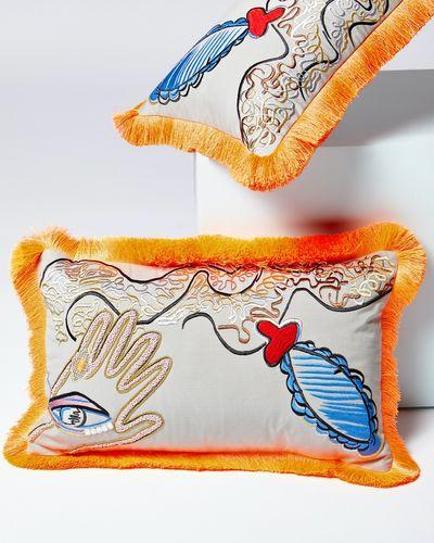 Joanne Hynes The Appliqué Surrealist Dream Cushion