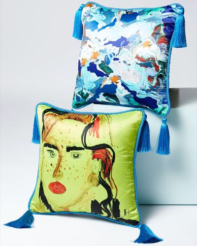 Joanne Hynes The Postcard Girl Cushion