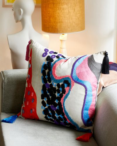 Joanne Hynes Craftizan Lux Lounge Cushion