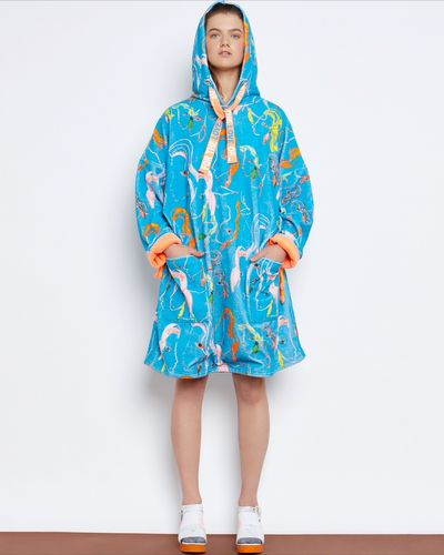 Joanne Hynes The Beach Days Illustrated Robe-Towel-Dress