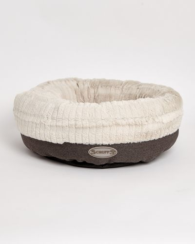 Plush Donut Dog Bed thumbnail