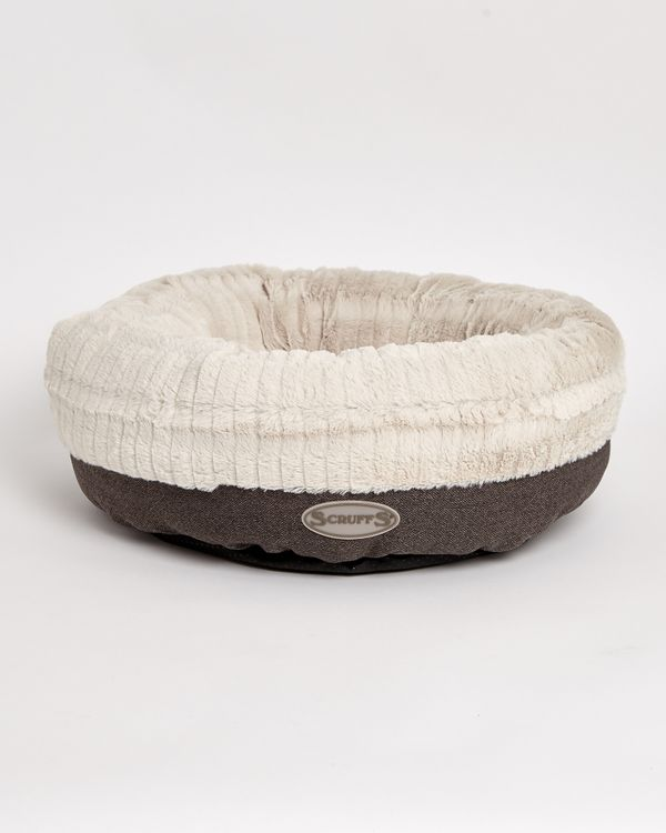 Plush Donut Dog Bed